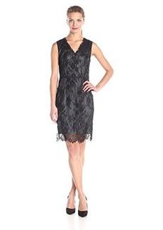 Elie Tahari Women's Ashley Dress, Black, 10