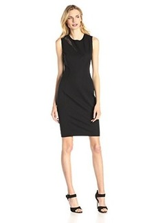 Elie Tahari Women's Axel Cotton Twill Sheath Dress