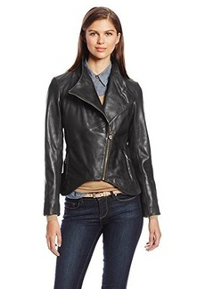 Elie Tahari Women's Beverly Leather Jacket
