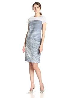Elie Tahari Women's Cassie Sensation Print Shift Dress