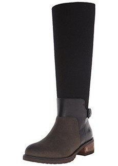 Elie Tahari Women's EL-Marvel Riding Boot, Forest/Black/Black, 36.5 EU/6.5 M US