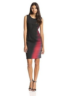 Elie Tahari Women's Emory Ombre Sheath Dress