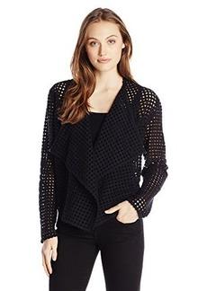 Elie Tahari Women's Harla Jacket, Black, Large