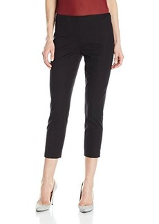 Elie Tahari Women's Juliette Cotton Twill Cropped Pant