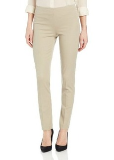 Elie Tahari Women's Juliette Long Stretch Cotton Twill Pant