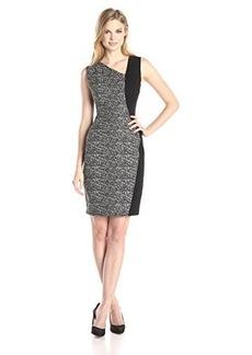 Elie Tahari Women's Lyndsey Dress, Black/White, 14