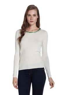ELIE TAHARI Women's Ruella Silk Cashmere Blend Sweater