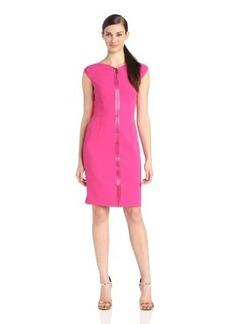 ELIE TAHARI Women's Ruth Cap Sleeve Dress