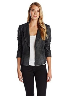 Elie Tahari Women's Sally Leather Jacket