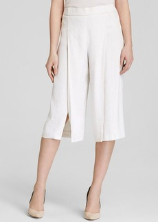 Elie Tahari Wylie Striped Cotton Culottes