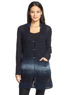 Elie Tahari 'Natalie' Long Wool Blend Jacket