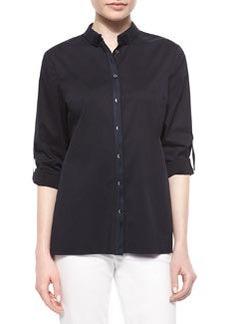 Helena Button-Front Shirt   Helena Button-Front Shirt