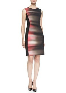 Isabella Sleeveless Velocity 5-Print Dress   Isabella Sleeveless Velocity 5-Print Dress