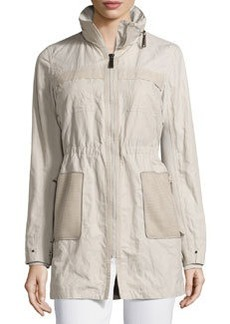 Juliana Zip-Front Coat   Juliana Zip-Front Coat