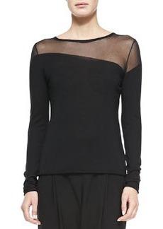 Kaori Sweater with Mesh   Kaori Sweater with Mesh