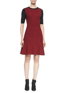 Linore Colorblock Flounce Dress   Linore Colorblock Flounce Dress