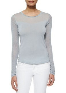 Luana Mesh-Long-Sleeve Sweater   Luana Mesh-Long-Sleeve Sweater
