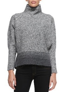 Mabelle Wool-Blend Turtleneck Sweater   Mabelle Wool-Blend Turtleneck Sweater