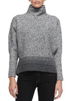 Mabelle Wool-Blend Turtleneck Sweater   Mabelle Wool-Blend Turtleneck Sweater