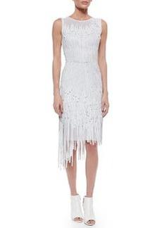 Milan Leather Fringe Dress   Milan Leather Fringe Dress