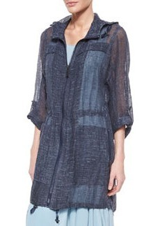 Molly Sheer Linen Long Coat   Molly Sheer Linen Long Coat