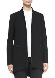 Natalie Long Arch-Hem Coat   Natalie Long Arch-Hem Coat
