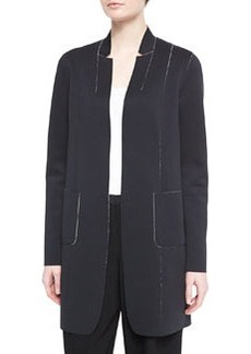 Natalie Long Reversible Coat   Natalie Long Reversible Coat