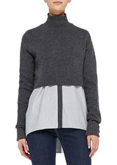 Raleigh Cashmere Cropped Sweater   Raleigh Cashmere Cropped Sweater