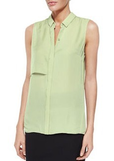 Shelby Sleeveless Silk Blouse   Shelby Sleeveless Silk Blouse