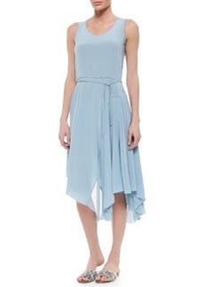 Tammie Sleeveless Silk Handkerchief Dress   Tammie Sleeveless Silk Handkerchief Dress