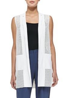 Tonya Mesh-Net Long Vest   Tonya Mesh-Net Long Vest