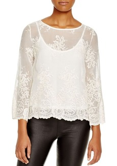 Ella Moss Aimee Lace Top