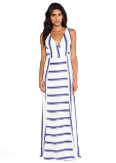 Ella Moss Anabel Maxi Dress in Blue