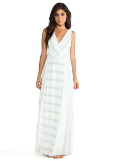 Ella Moss Anabel Maxi Dress in Green