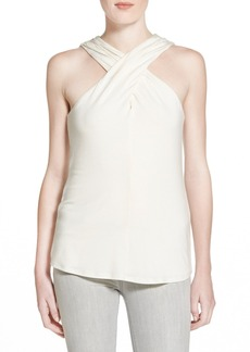 Ella Moss 'Bella' Cross Front Sleeveless Top