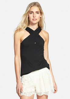Ella Moss 'Bella' Cross Front Top