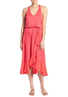 Ella Moss 'Bella' Ruffle Hem Blouson Dress