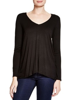 Ella Moss Bella Sheer Inset Tunic