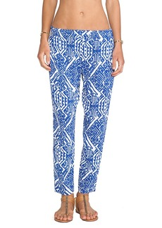 Ella Moss Biarritz Pants in Blue