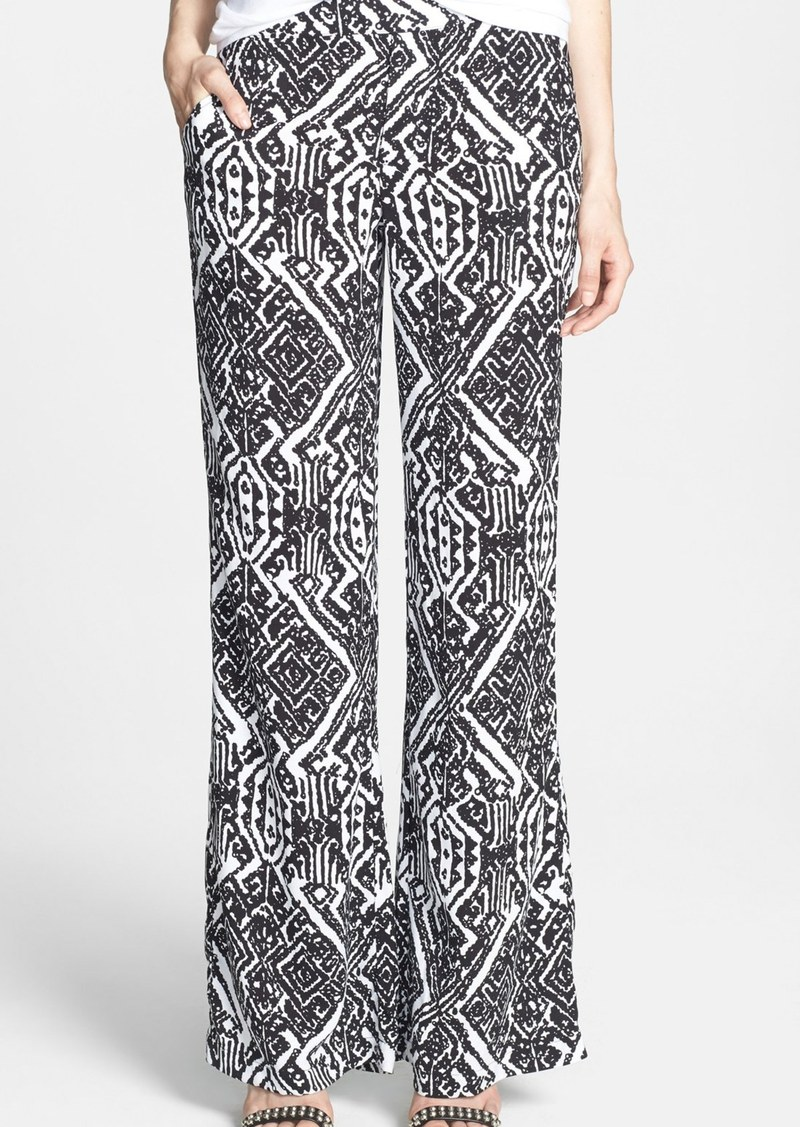 Ella Moss 'Biarritz' Print Wide Leg Pants