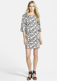 Ella Moss Blossom Print Shift Dress