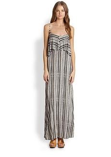 Ella Moss Bondi Printed Tiered Maxi Dress