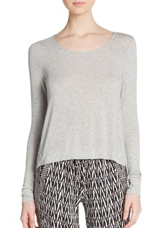 Ella Moss Boxy Heathered Top