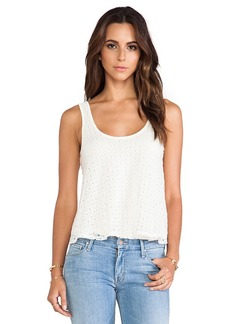 Ella Moss Brigitte Tank in Cream