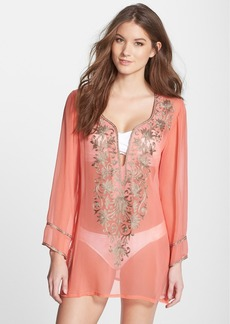 Ella Moss 'Cabana' Embroidered Cover-Up Tunic