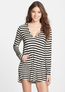 Ella Moss 'Cabana' Stripe Cover-Up Hoodie