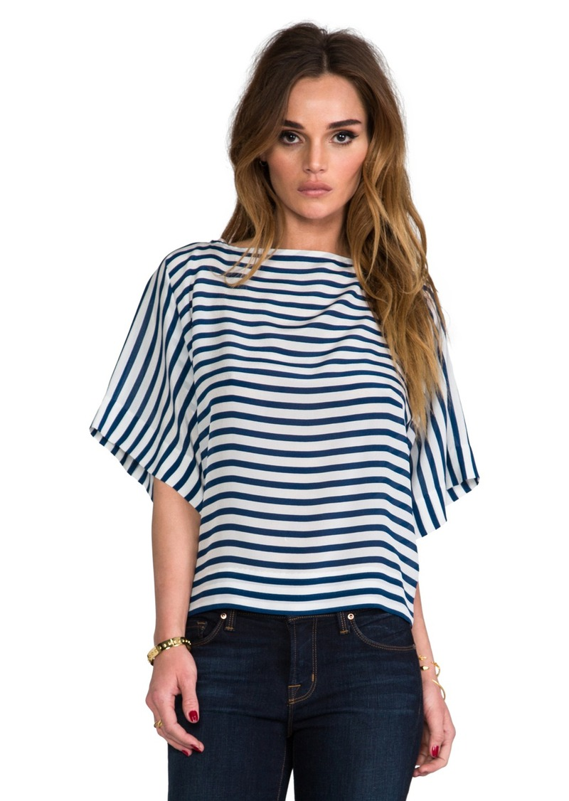 Ella Moss Cara Striped Top