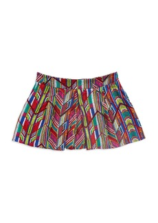 ELLA MOSS Chevron Pleated Short