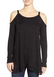 Ella Moss Cold Shoulder Long Sleeve Top