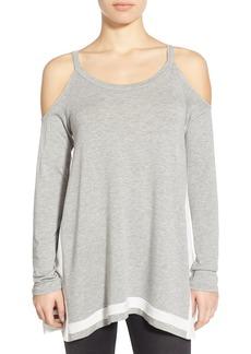 Ella Moss Cold Shoulder Long Sleeve Top